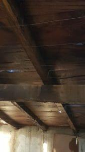 Particolare del tavolame in legno antico 169x300 - Particolare del tavolame in legno antico